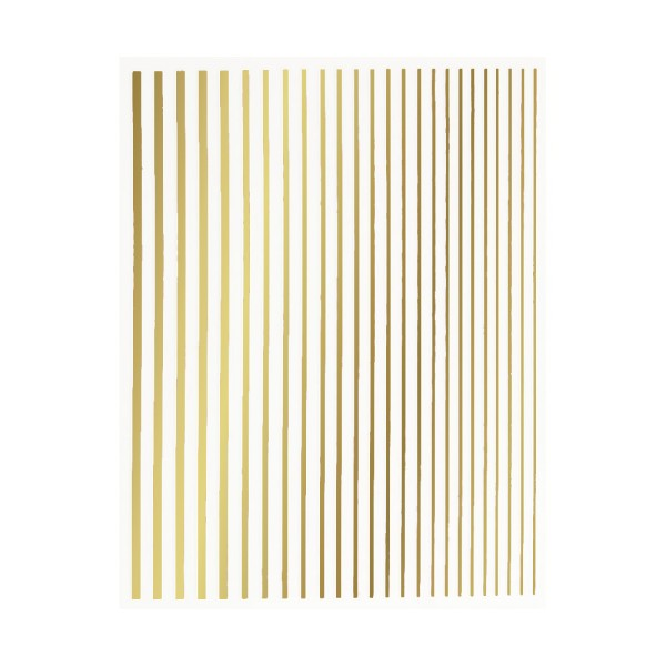 JUSTNAILS Flexible Stripes Set gold