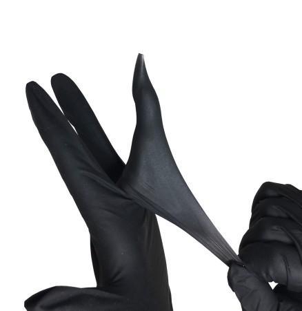 JUSTNAILS Premium Latex Handschuhe REIßFEST - 100 Stück