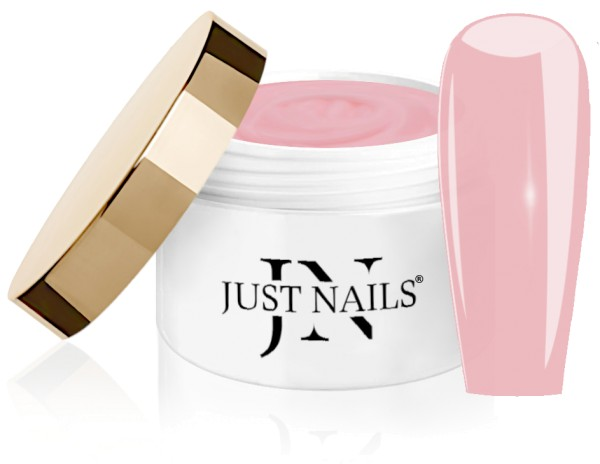 JUSTNAILS Cover Build - Brilliant Pink