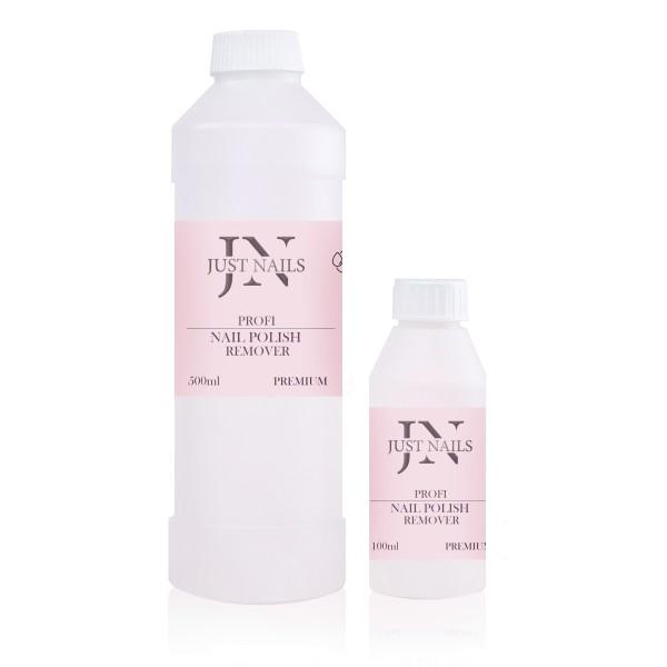 JUSTNAILS Premium Nagellackentferner mit Erdbeerduft